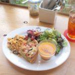気になってたフードスタンドmagaliでキッシュのランチ。スープもキッシュも美味しかった#magali#foodstandmagali#鎌倉の昼ごはん (Instagram)