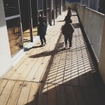 双子の息子の幼稚園一日体験入園