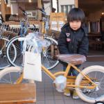 初めてのこども自転車は16インチの「little tokyobike(リトルトーキョーバイク)」
