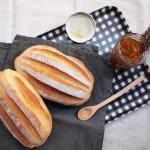 Milk bread with Dekopon jam