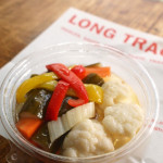 『LONG TRACK FOODS』のおいしいピクルス