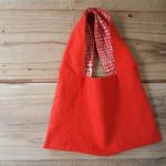 『CHECK&STRIPE』のオリジナルリネンで手作りバッグ