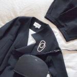 普段使いもできる卒園入学式用フォーマル服「ENFOLD(エンフォルド)」のセットアップ