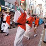 双子と一緒に夏祭り!高円寺の阿波踊り