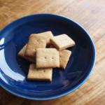 乳製品も卵も使わない サクサクおいしい白崎茶会のきなこクッキー
