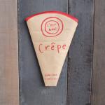 「Romi-Unie Confiture(ロミ・ユニコンフィチュール)」でモチモチっと美味しいクレープを頂きました!