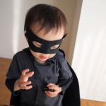手作りマスクとケープで我が家のHappy Halloween!