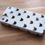 『leah reena goren』の黒ねこiPhoneケース