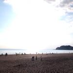 湘南時間を感じた週末の由比ヶ浜海岸