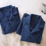 パジャマを変えると気持ちも変わる!友人からのプレゼント「ハンドメイドの双子パジャマ」