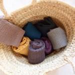 ワッフル編みのかわいいこどもソックス『RICCOYOCCO』