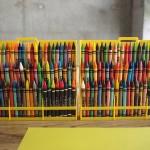 72 color crayons