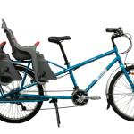 双子を乗せて颯爽と走る自転車『YUBA』の「Mundo Cargo Bike」